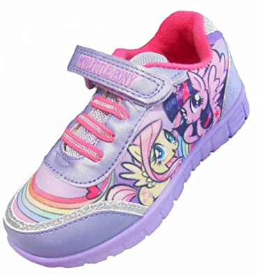 1787e0b91a2 Amazon.com | My Little Pony Girls Lilac Trainer Shoes | Shoes