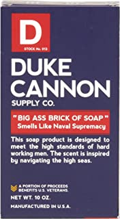 product image for Duke Cannon Big Brick of Soap for Men - Naval Supremacy, 10oz.