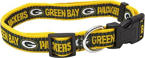 Pets First NFL Green Bay Packers Pet Collar, Large