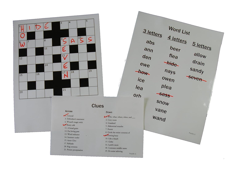 Amazon Com Keeping Busy Sequenced Crossword Dementia Alzheimer S