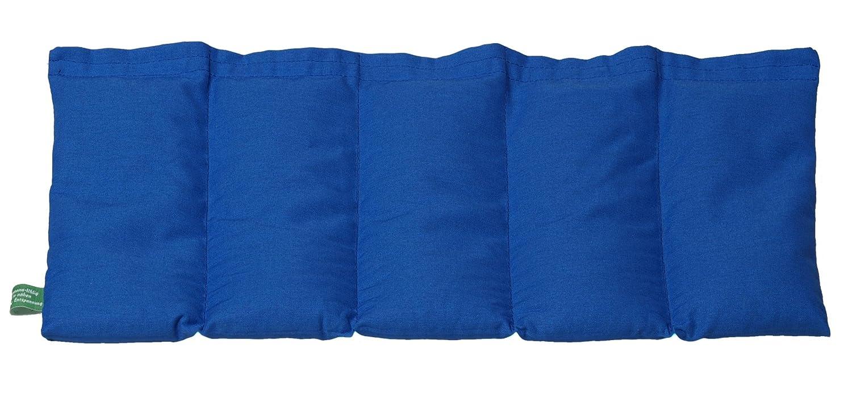 K/örnerkissen K/ühlkissen royalblau Dinkelkissen W/ärmekissen 50x20cm