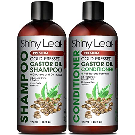 Shiny Leaf Shampoo and Conditioner