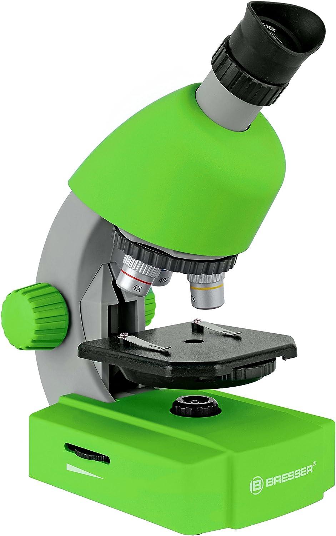 Bresser 8851300B4K000 microscopio (40x-640x) verde