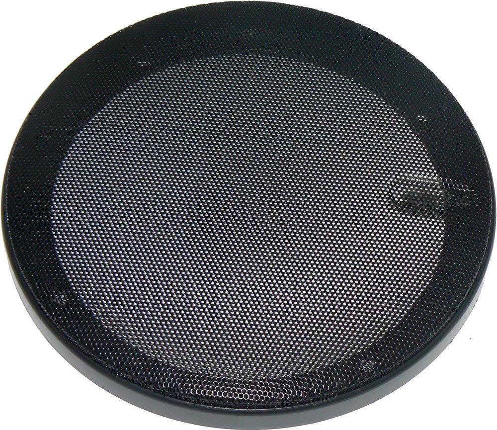 Coppia griglie per altoparlanti di diametro 165 mm. Modello tondo con rete metallica. Card Italia srl