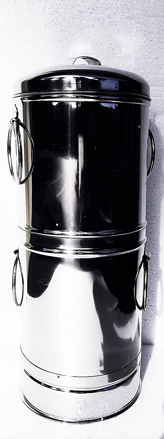 Stainless Steel Commercial Coffee Filter Indian Style-2liter