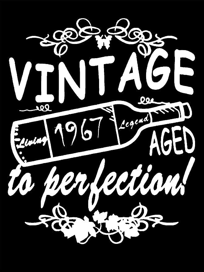 Amazon.com: 1967 Vintage envejecido a la perfección regalo ...