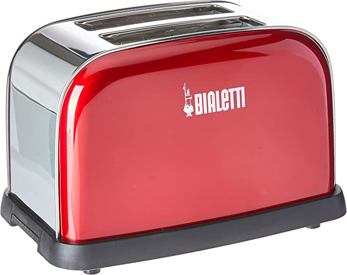 Toaster Electricity Vermelho 110v Bialetti Vermelho 110v por Bialetti