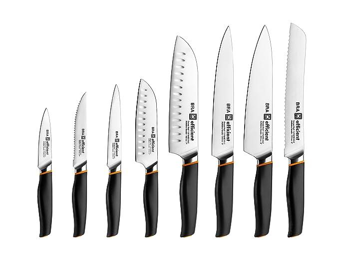 Bra Efficient Cuchillo Fileteador, Acero Inoxidable, Gris, 3x5x34 cm