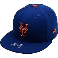 $103 » Jeff McNeil New York Mets Autographed New Era Baseball Cap - Fanatics Authentic Certified - Autographed MLB Hats