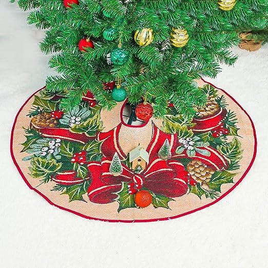 ToDIDAF - Falda para árbol de Navidad (99 cm de diámetro ...