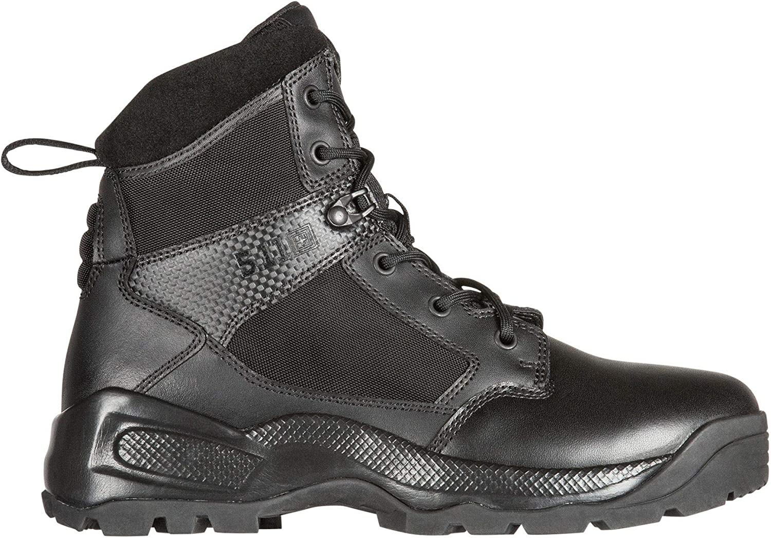 "5.11 Men's ATAC 2.0 6"" Tactical Military Boot, Style 12401, Black"