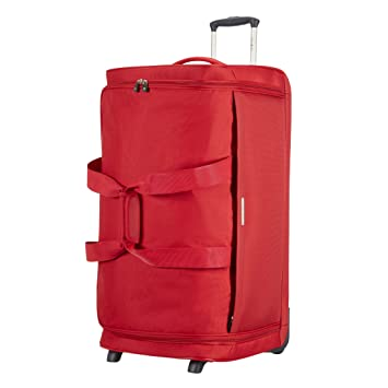 Samsonite Dynamo Bolsa de Viaje con Ruedas 77/28, 77 cm, 128 L, Color Rojo: Amazon.es: Equipaje