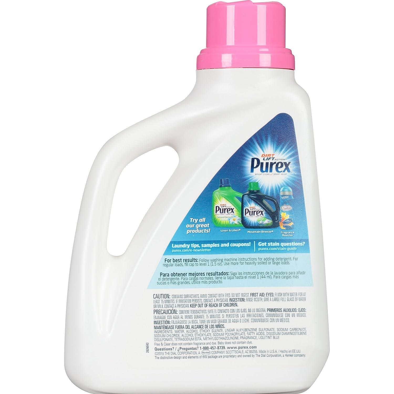 Amazon: Purex Liquid Laundry Detergent, Baby, 75 Oz (50 Loads): Health  & Personal Care