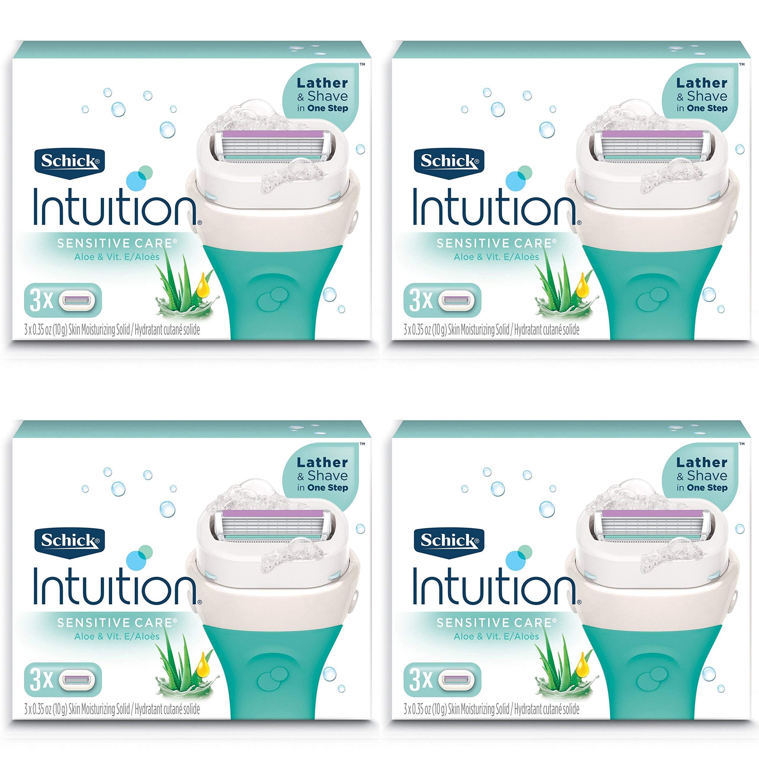 Amazon.com: NEW Schick Intuition Sensitive Care Moisturizing Razor ...