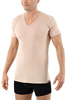 658e42de23c0b4 Albert Kreuz V-Unterhemd unsichtbar Business Herrenunterhemd aus ...