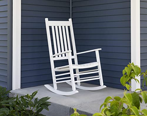 Woodlawn Home, 100019, Mission Style Rocker, White
