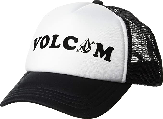 Volcom Womens Good Timez Adjustable Trucker Hat Gorra de béisbol ...
