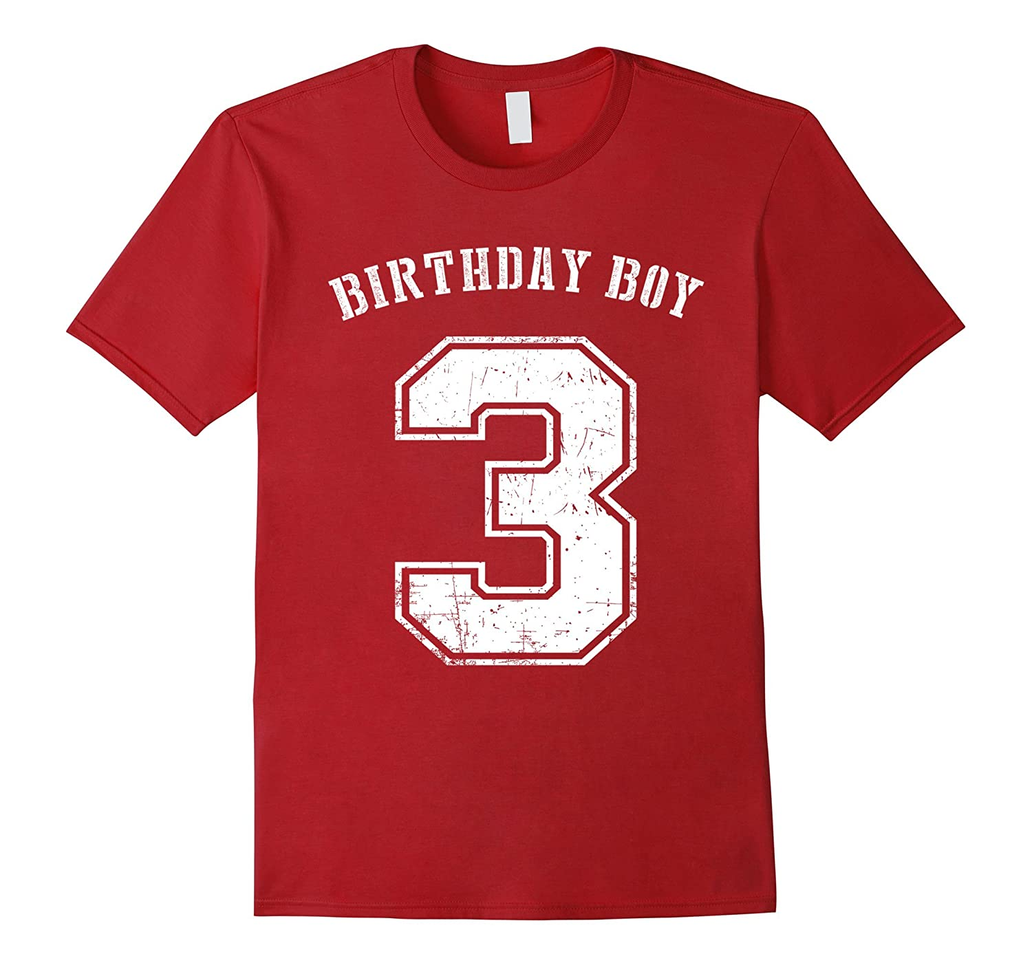 Birthday Boy 3rd Tshirt 3 Years Old For Kids CL