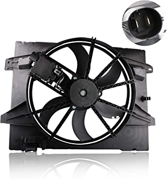 Radiator Cooling Fan Assembly For Mercury Grand Marquis Ford Crown Victoria 4.6L