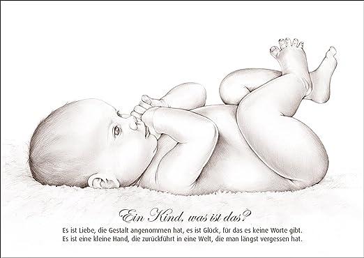 Tarjeta de felicitación de nacimiento para bebé con precioso ...