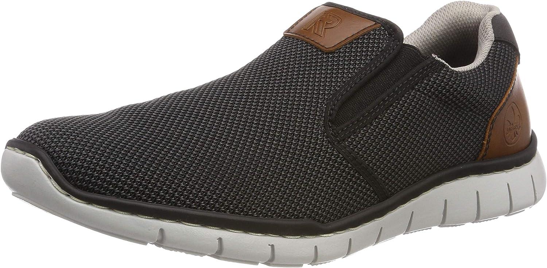 Rieker B8763 01, Mocassins Homme: : Chaussures et Sacs