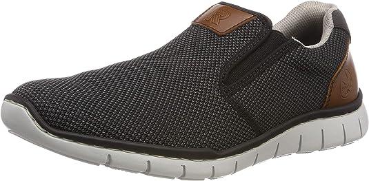 Rieker Herren B8763 01 Slipper: : Schuhe & Handtaschen xHwAZ
