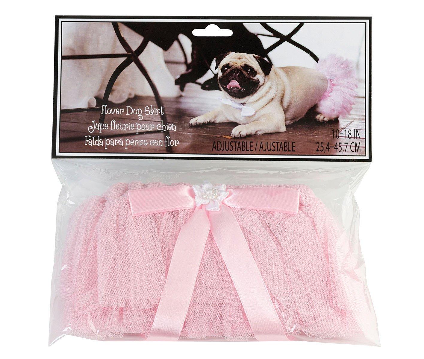 Lillian Rose Wedding Party Pink Dog Tutu Skirt WG137 PI
