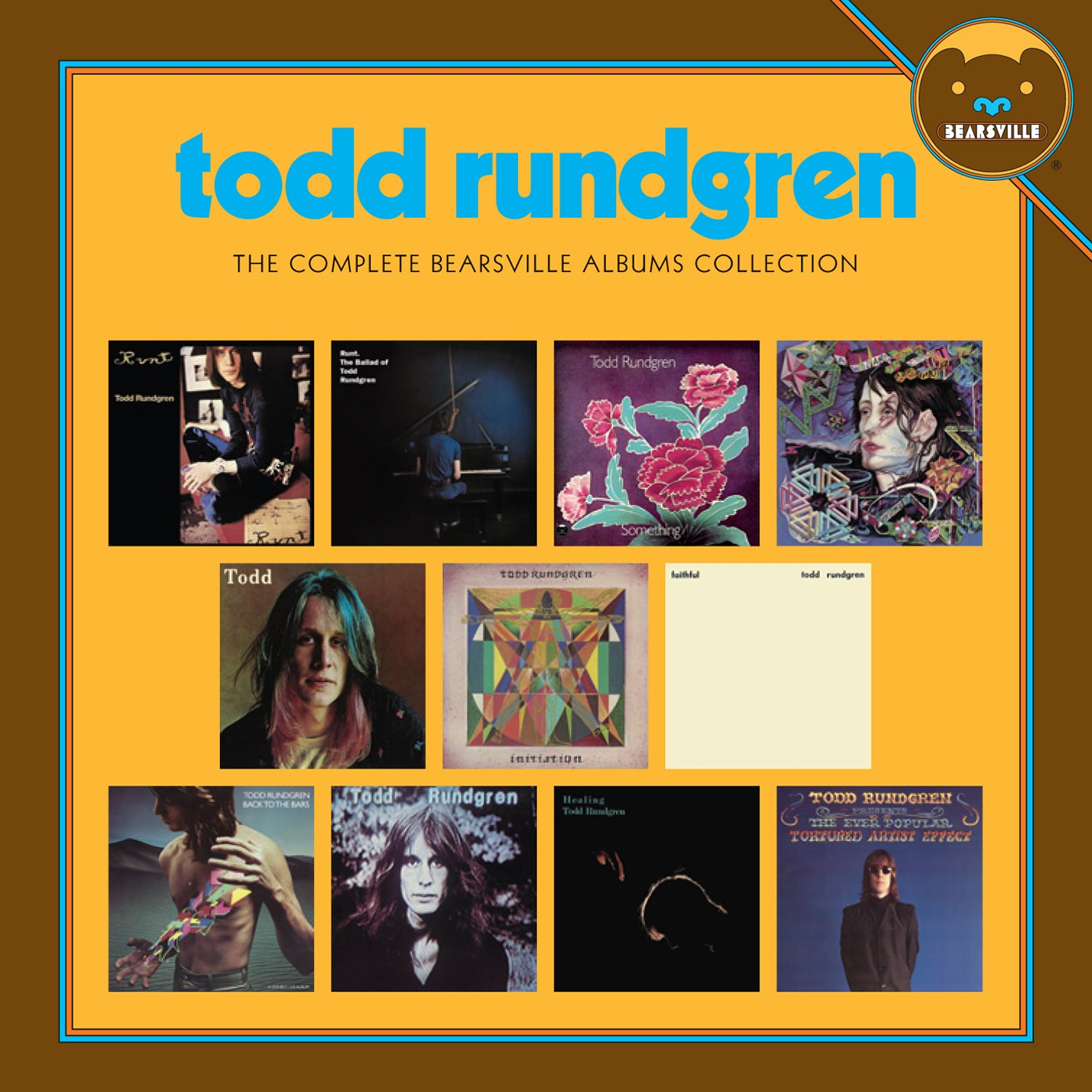 CD : Todd Rundgren - The Complete Bearsville Albums Collection (Boxed Set, 13 Disc)