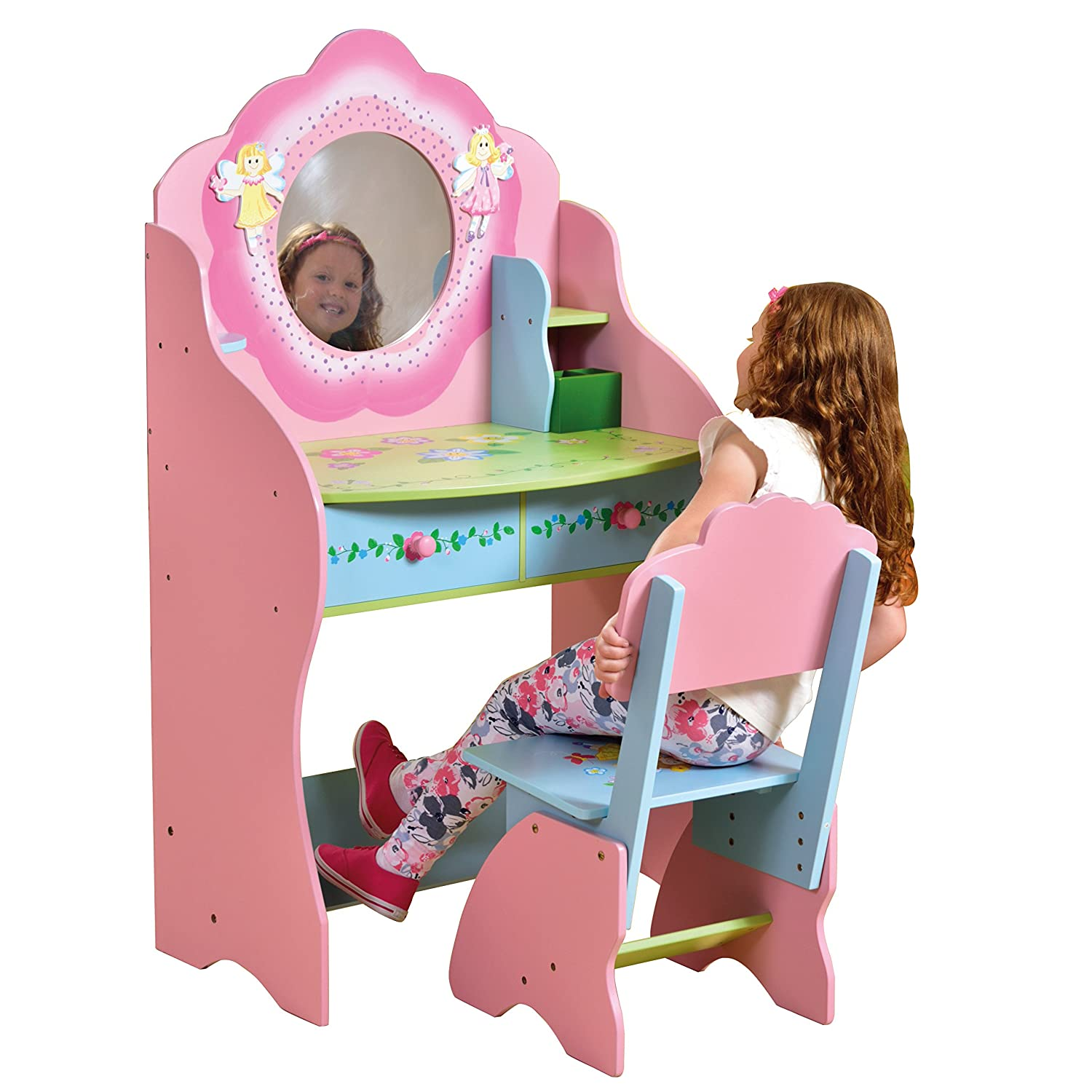 Liberty House Toys Fairy Dressing Table and Chair LHT10043