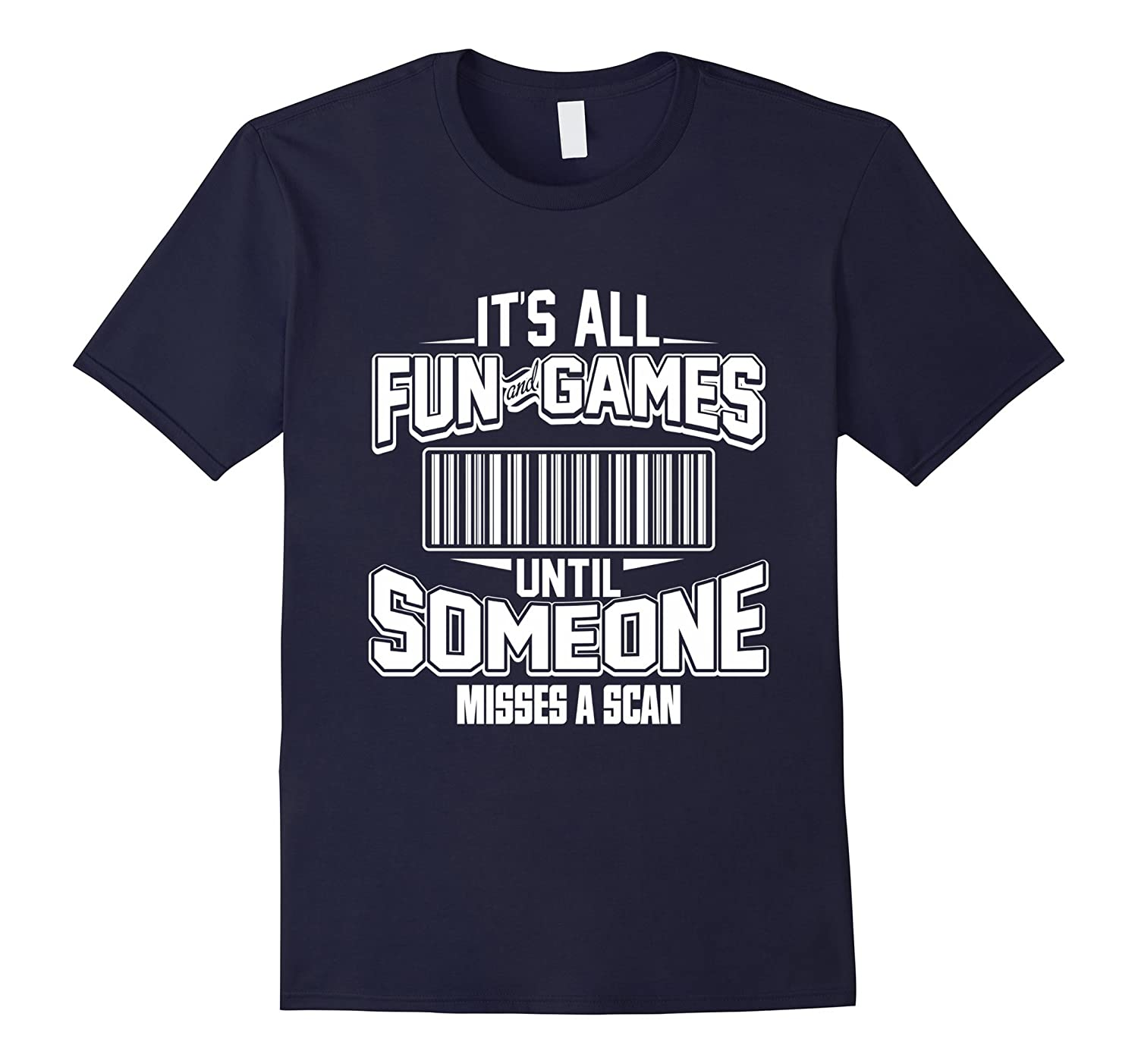 Funny Postal Worker Shirt - Fun  Game Misses Scan gift-CD