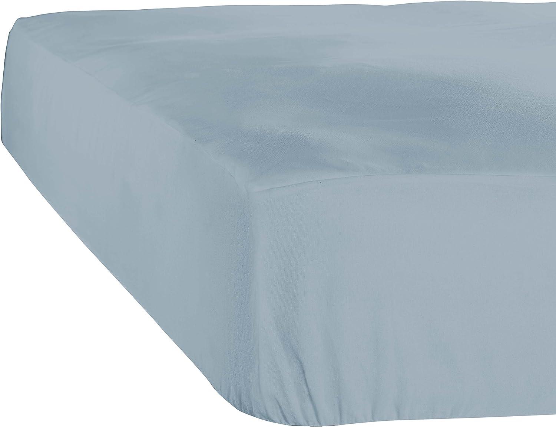 Coton De Witte Lietaer Case Drap Housse Jersey 80x200x30 cm White