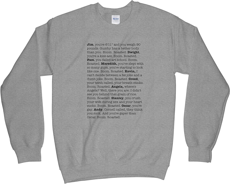 Boom Roasted Sweatshirt Michael Scott Sweatshirt