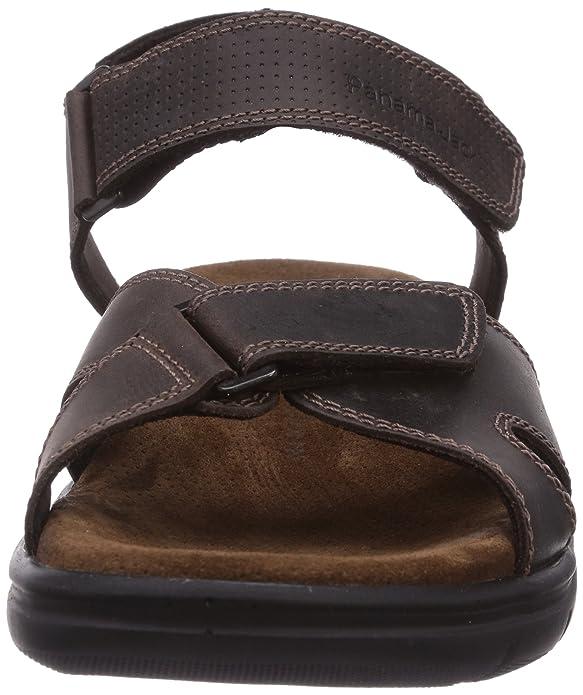 Sanders C2 Napa Grass, Mens Open Toe Sandals Panama Jack