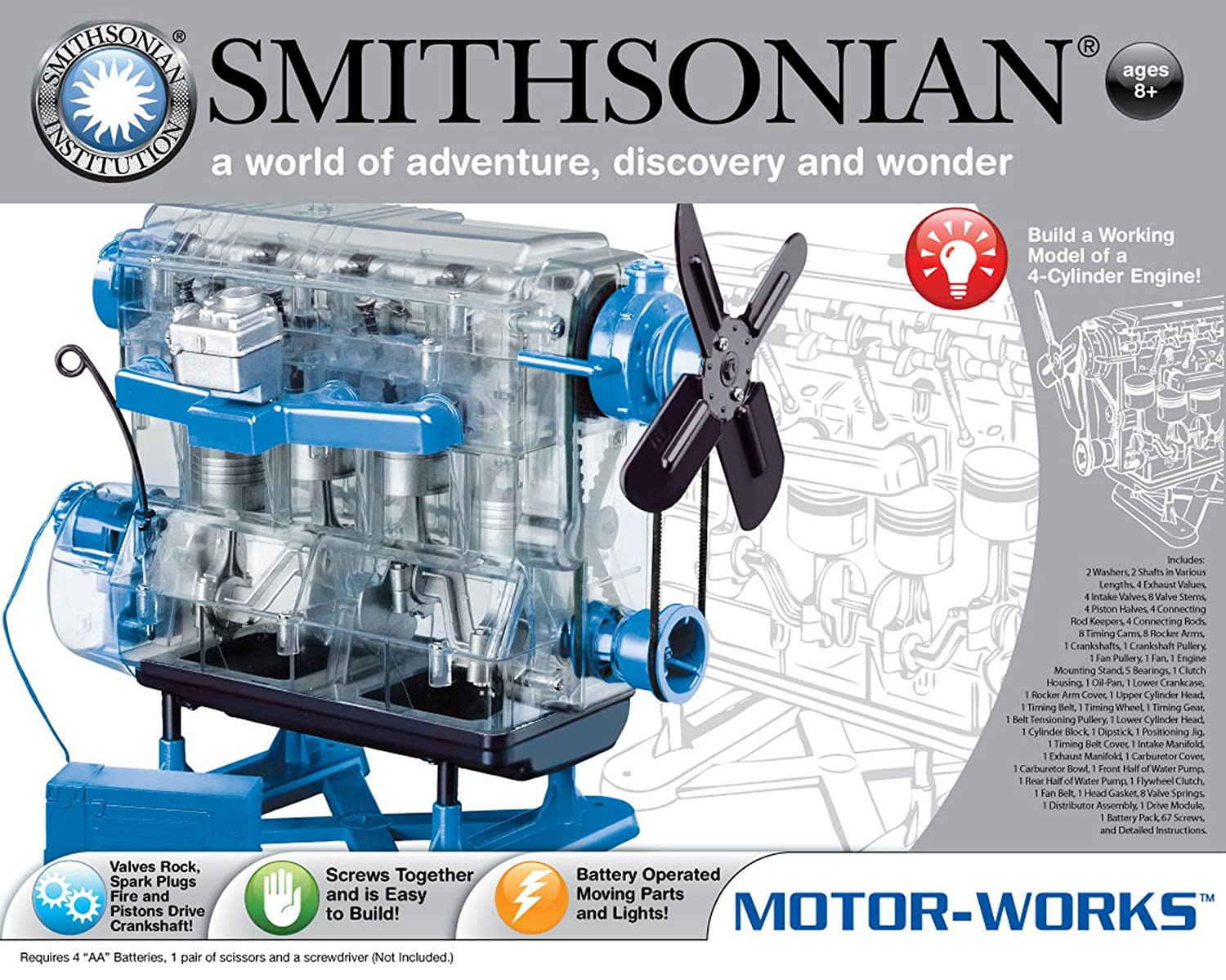 Amazon.com: Smithsonian Motor-Works: Toys & Games