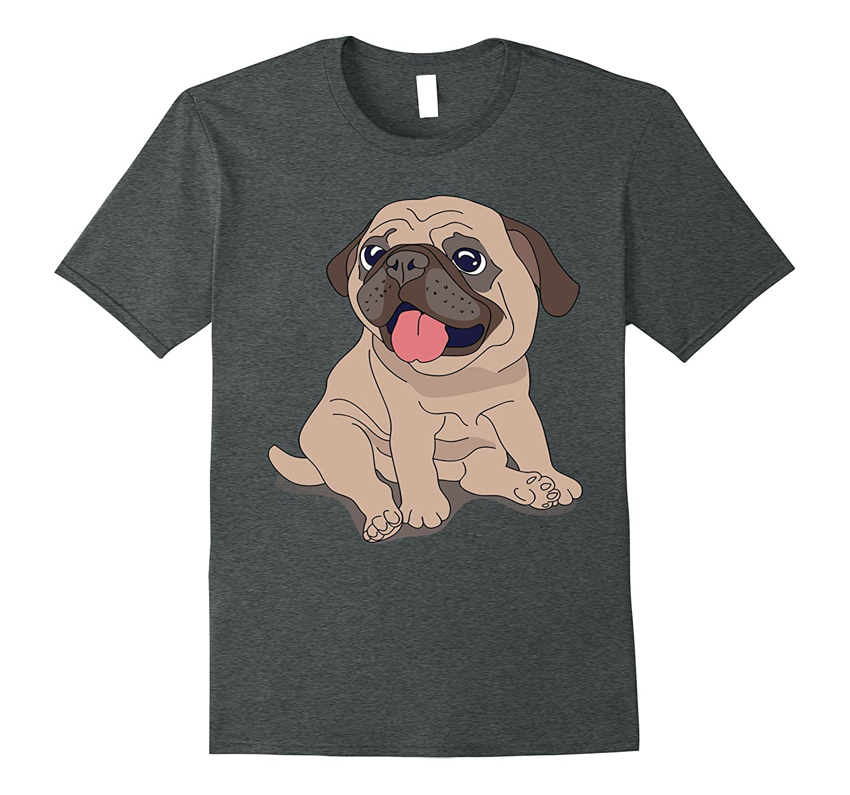 Pug Lover Gift Shirt Pug Funny Shirts-Vaci