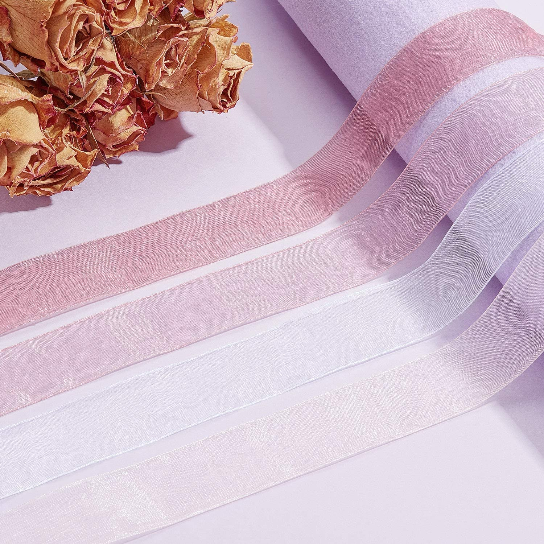 Amazon.com: 4 rollos de cinta de gasa transparente de ...