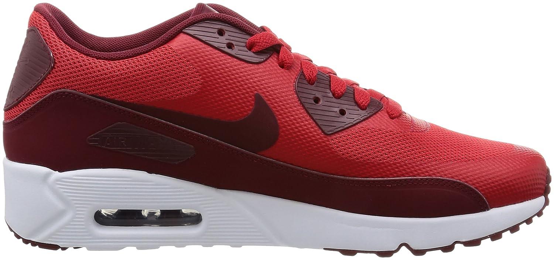 Amazon.com | NIKE Mens Air Max 90 Ultra 2.0 Essential University Red/Team Red/White Running Shoe 9 Men US | Road Running