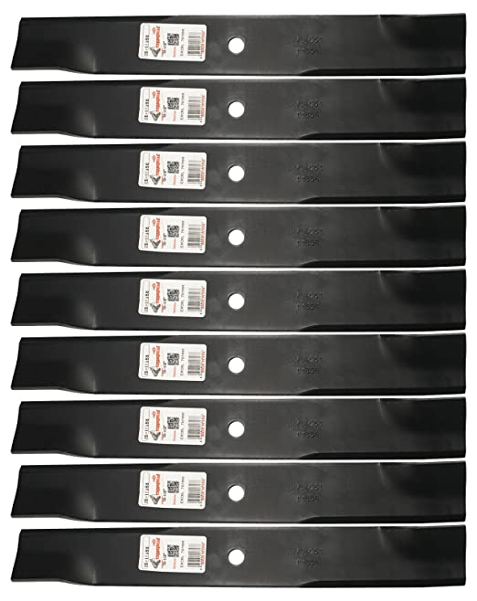 9) Rotary 11856 - Cuchillas cortacésped para Excel Hustler 601124 ...