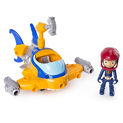 RUSTY RIVETS – Buildable Rivet Shark Vehicle with Rusty Figure, for Ages 3 & Up: Toys & Games