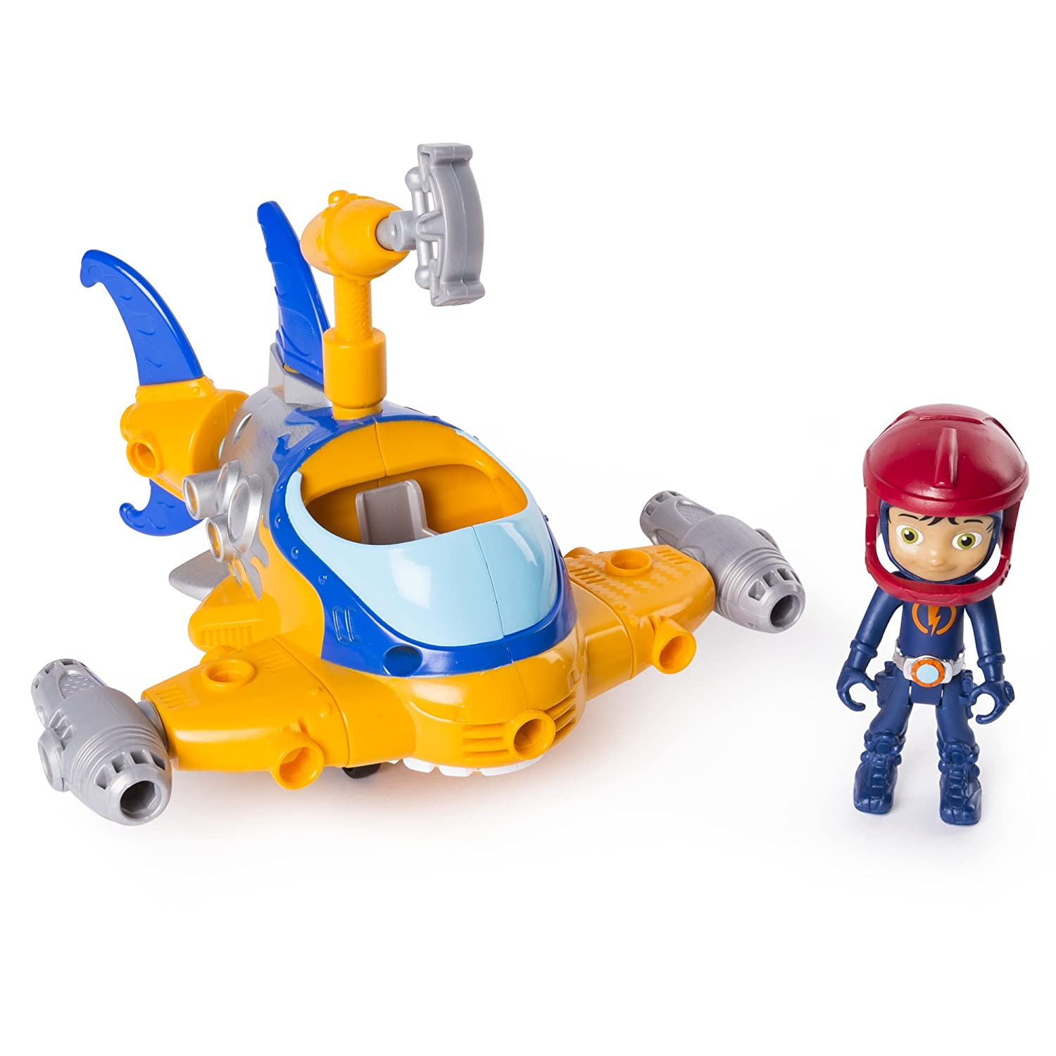 Rusty Rivets 6046696 Basic Vehicle Rivet Shark, Multi-Colour Spin Master 20101269-6046696