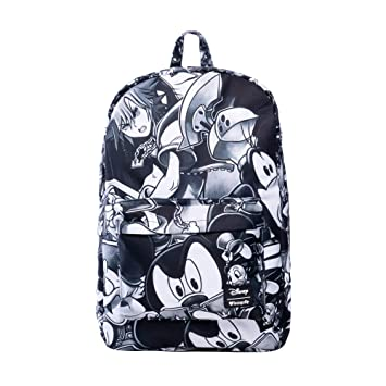 ea834b6ad9e Image Unavailable. Image not available for. Color  Loungefly x Disney  Kingdom Hearts III Monochromatic Nylon Backpack ...