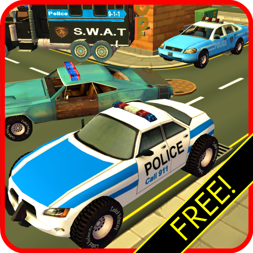 Police Car Race & Chase! FREE Adventure Sim 3D ()