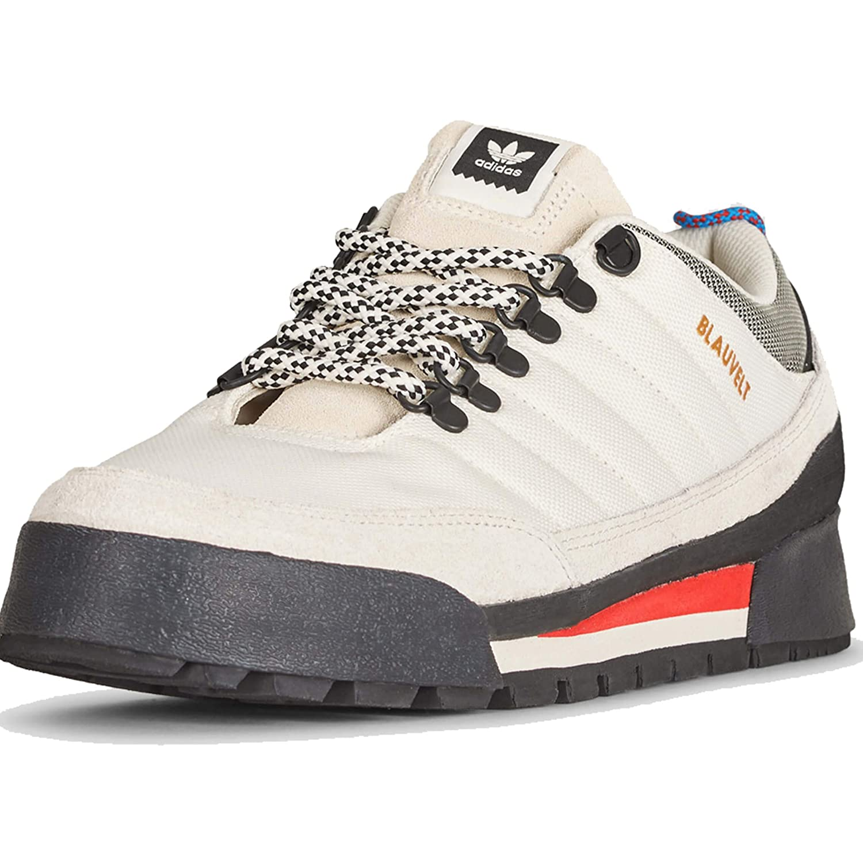 Adidas Herren Jake Stiefel 2.0 Low Skateboardschuhe Off Raw Weiß Core schwarz, 8uk