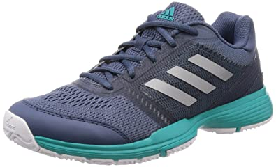 991316b2155 adidas Barricade Club Women s Tennis Shoes - AW18-5.5 - Blue