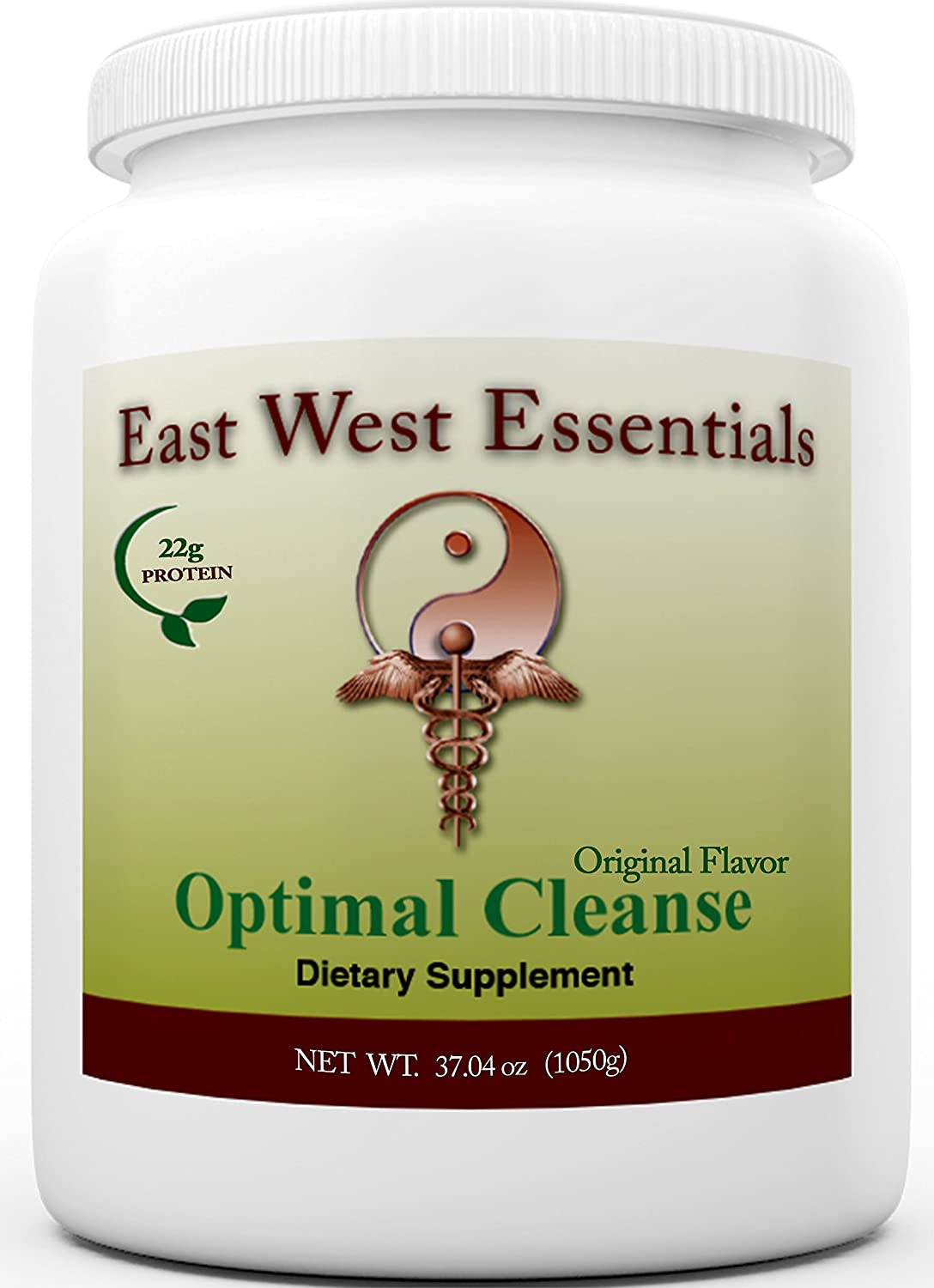 Optimal Cleanse – Original by East West Essentials – Helps Eliminate Toxins from The Liver and Fat Cells – Aids in Weight Loss – Can Be Used As A Meal Replacement