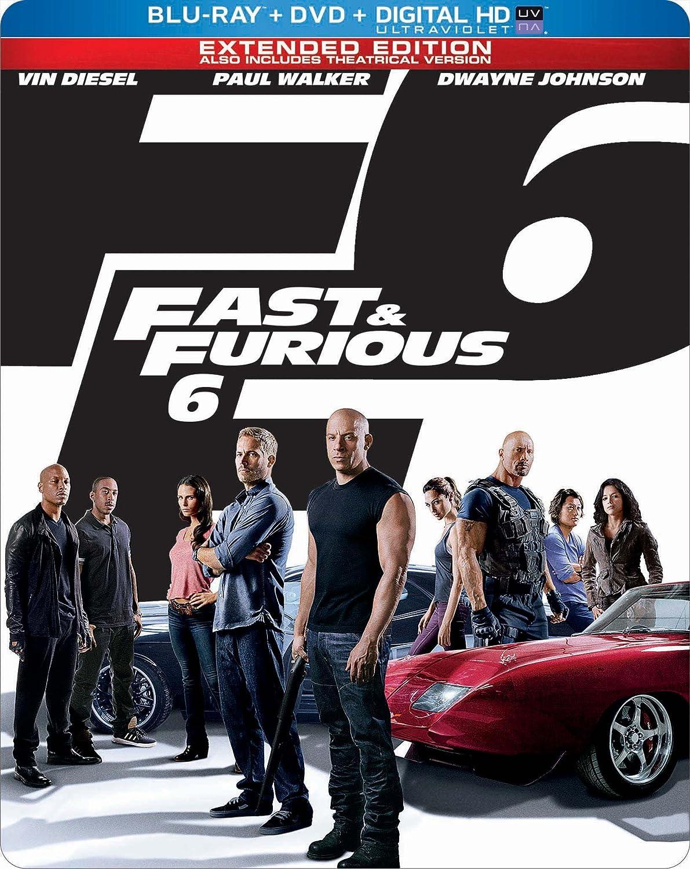 Fast & Furious 6 [Reino Unido] [Blu-ray]: Amazon.es: Paul Walker ...
