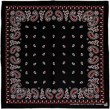 Black Canyon Bandana 50x25 Red Rot Mit Muster