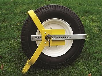 Milenco Ligero Remolque Wheelclamp 8 - Ruedas de 10 Pulgadas: Amazon.es: Coche y moto