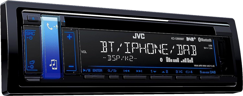 Jvc Kd Db98bt Cd Receiver Mit Digitalradio Dab Schwarz Navigation