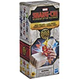 Marvel Superhero Shang-Chi and The Legend of The Ten Rings Brick Breaker, 5 Collectible Mini-Figure Toys in Break-Open Box fo